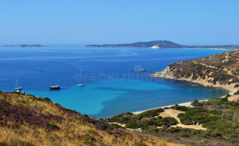 南撒丁岛,意大利 免版税库存照片