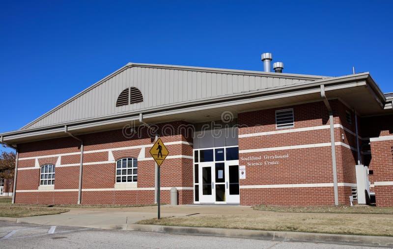 南方灵狮在ASU中间南部的科学中心,西部孟菲斯,阿肯色 免版税库存照片