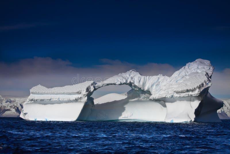 南极冰山 图库摄影