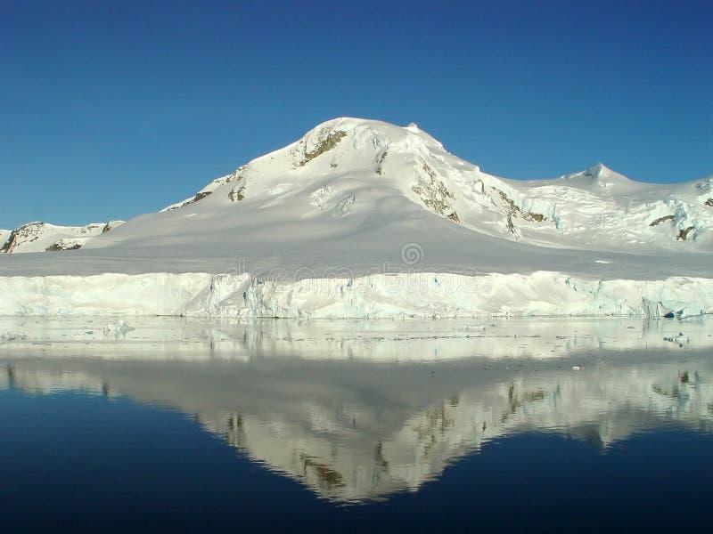 南极洲反映s 库存图片