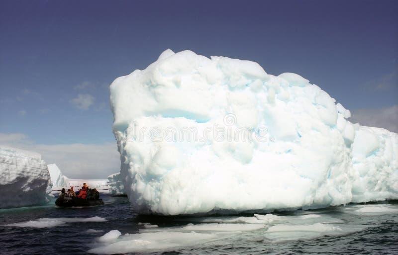 南极洲探险家 库存图片