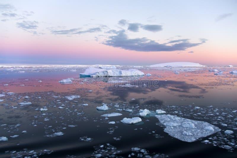 南极洲海运weddell 免版税库存照片