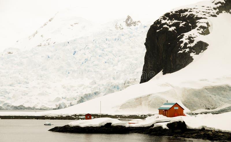 南极阿根廷研究工作站 免版税图库摄影
