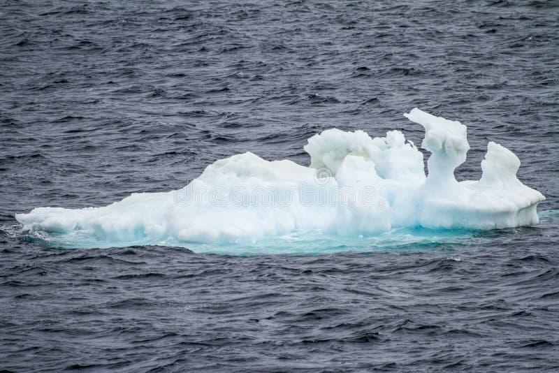 南极洲-浮动冰-全球性变暖 免版税库存照片