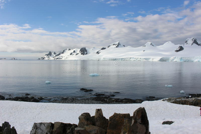 南极洲-风景 库存图片