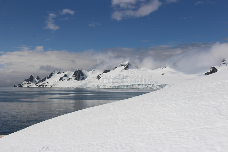 南极洲-风景 库存照片