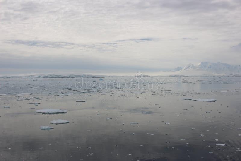 南极洲-风景 免版税库存照片