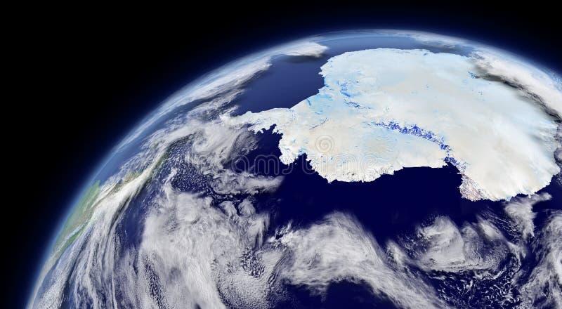 南极洲 皇族释放例证