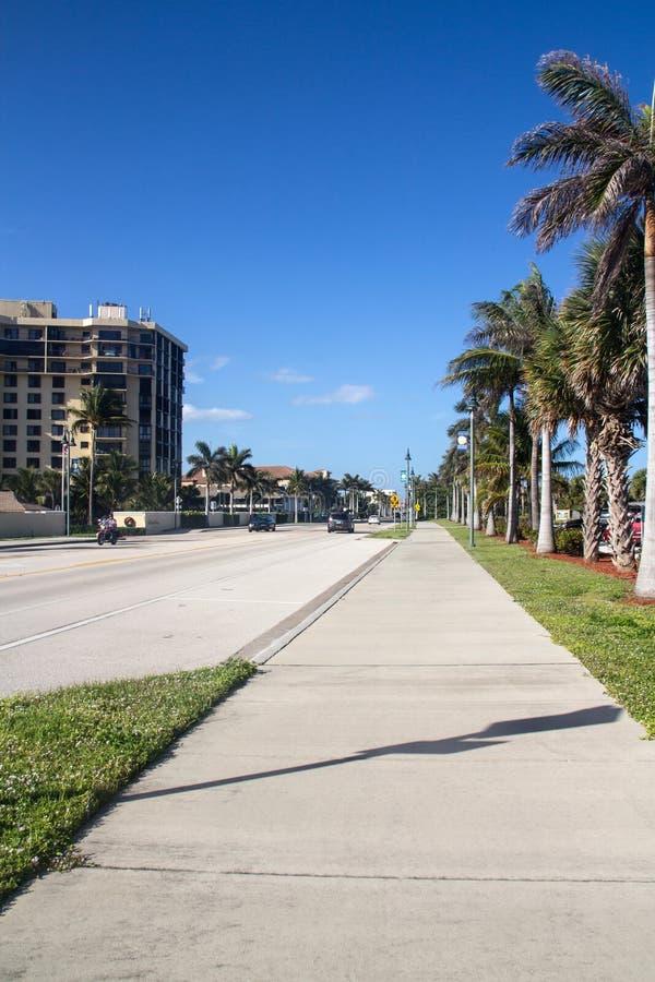 南海滩公园皮尔斯堡佛罗里达 库存图片