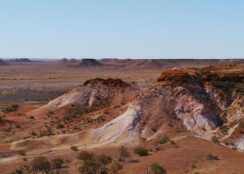 南澳大利亚五颜六色的风景  免版税图库摄影