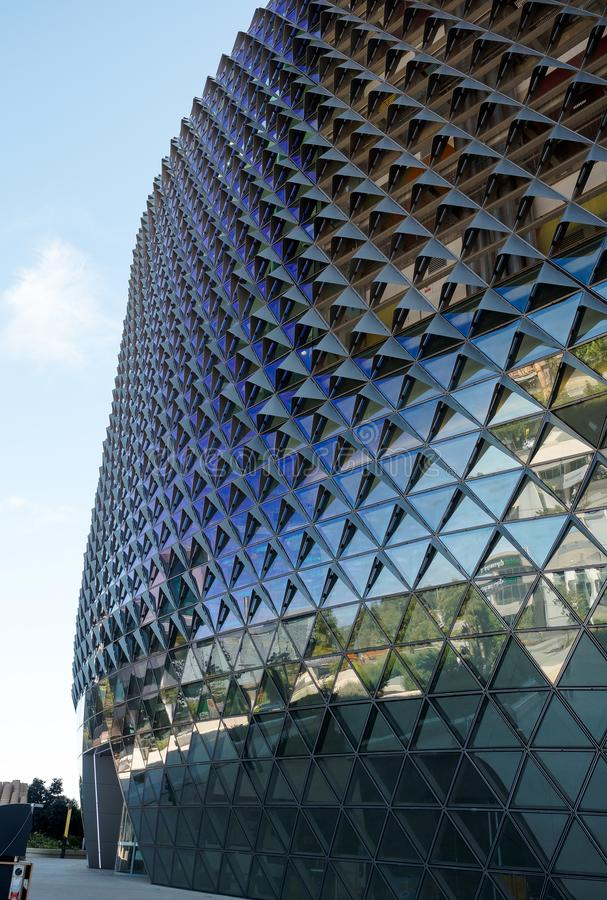 南澳大利亚卫生部和研究中心 免版税图库摄影