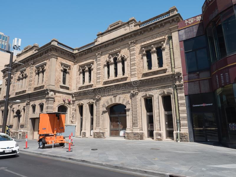 南澳大利亚城市阿德莱德在夏天 免版税图库摄影