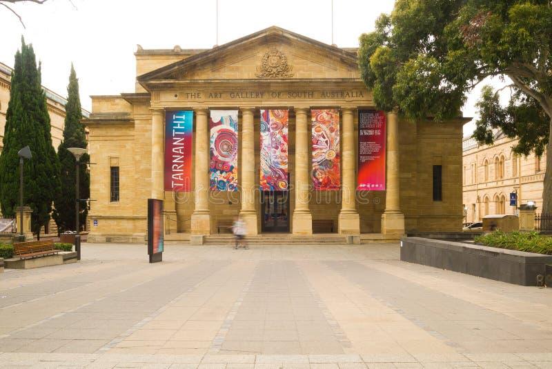 南澳大利亚,澳大利亚美术画廊  免版税库存图片
