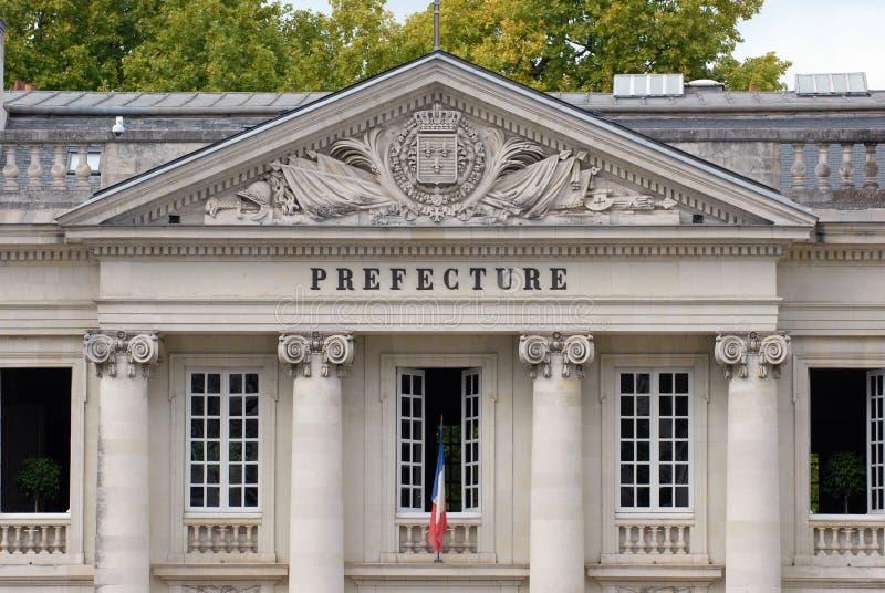 南特专区的门面在法国 库存图片