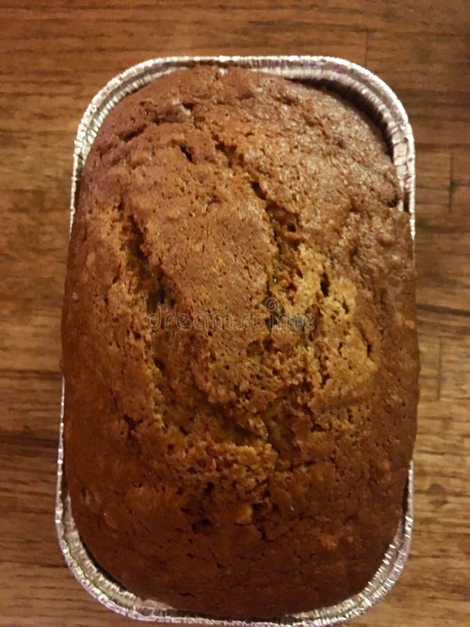 南瓜和巧克力面包 库存图片