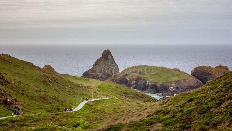 南西部英国海景 免版税图库摄影