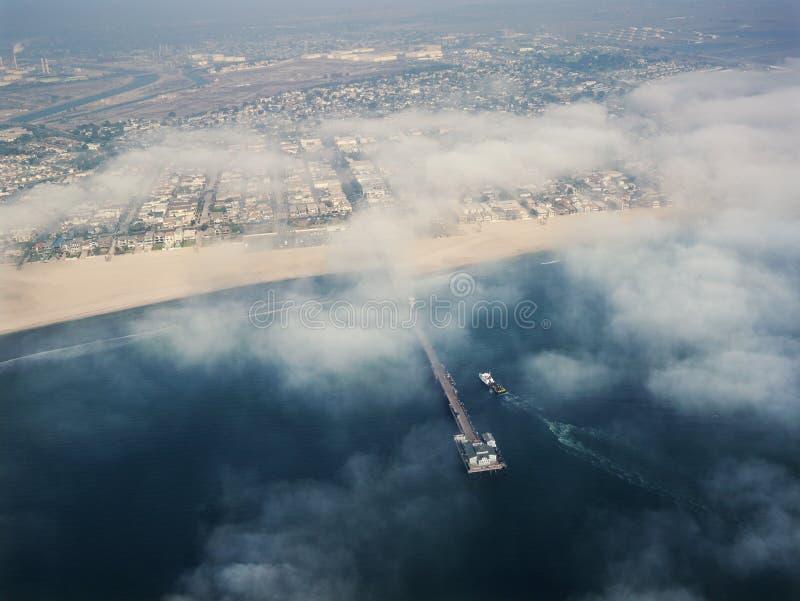 南部加利福尼亚的海岸 免版税库存照片