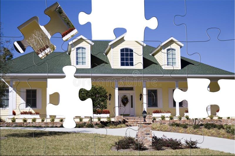 南部家庭的难题 免版税库存照片
