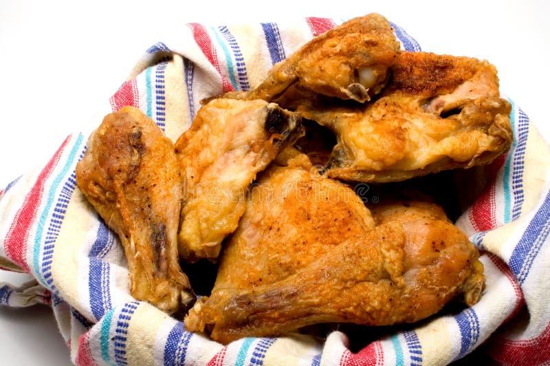 南部的炸鸡 库存照片
