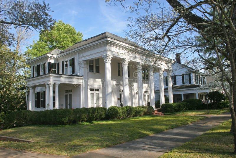 南部的豪宅 免版税库存照片