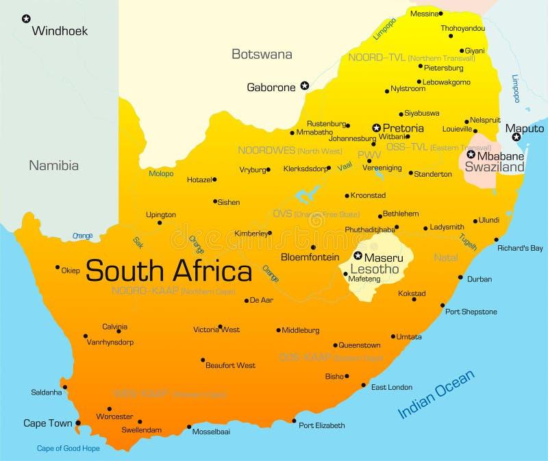南非国家(地区) 皇族释放例证