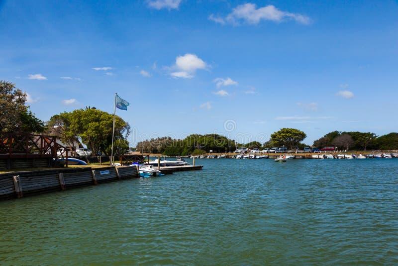 南非圣弗朗西斯运河 库存图片