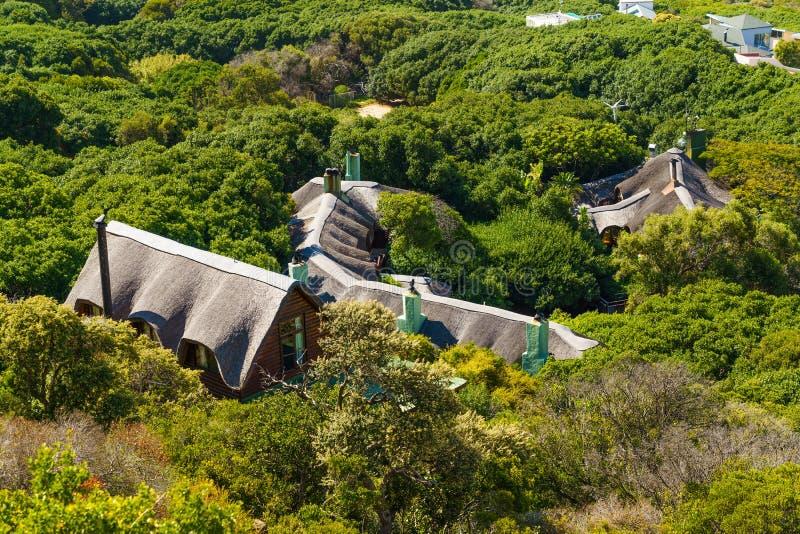 南非开普敦建筑物顶部的顶视图 图库摄影