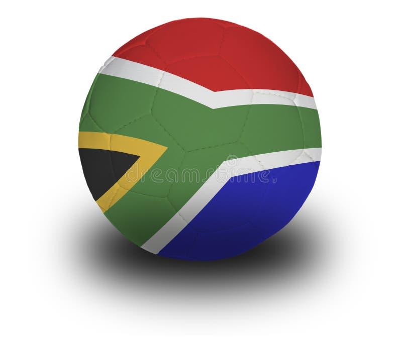 南非洲的橄榄球 免版税库存图片