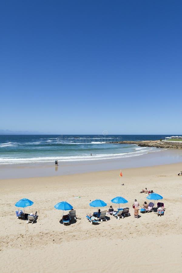 南非洲的海滩 免版税库存照片