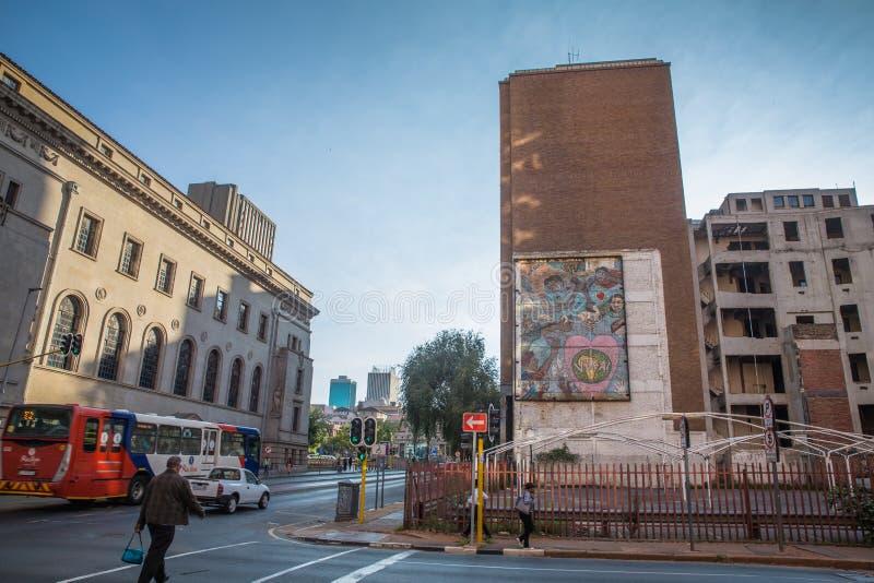 南非-约翰内斯堡 库存照片
