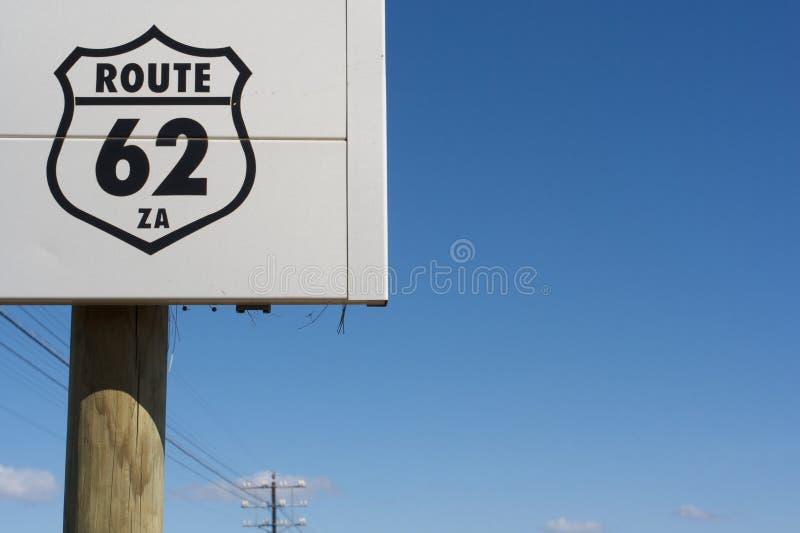 南62非洲的途径 库存图片