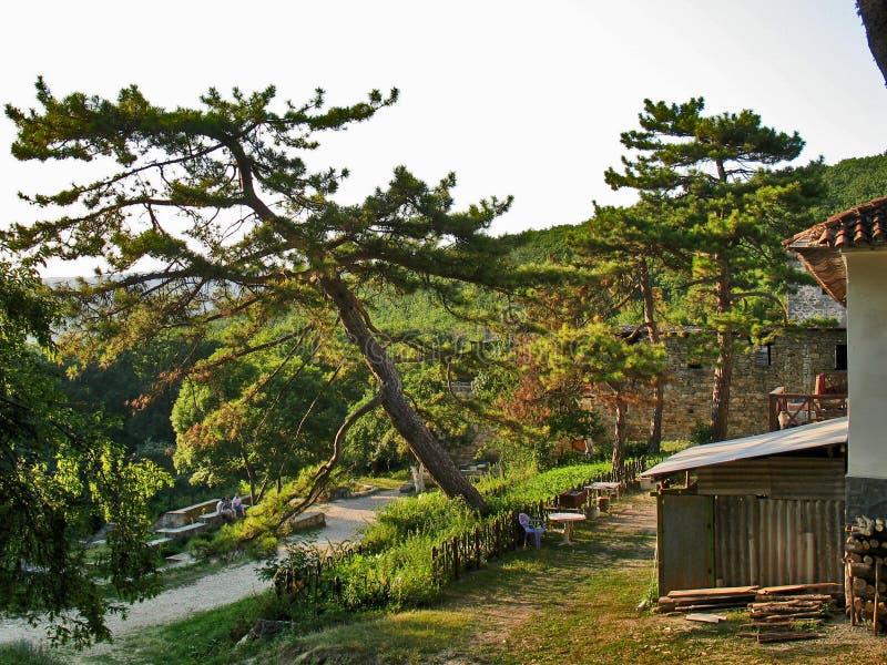 南Krimea风景 库存照片