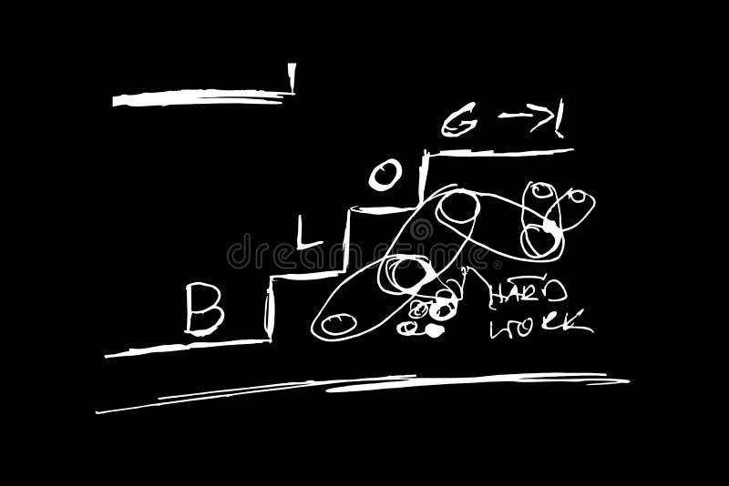 博克台阶艺术 免版税图库摄影