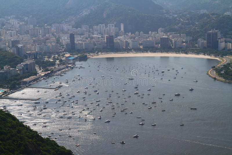 博塔福戈海湾-里约热内卢 库存照片