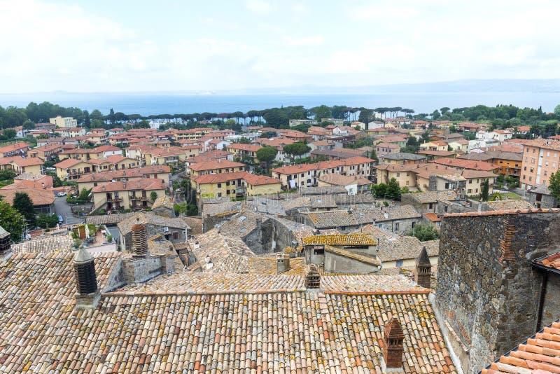博尔塞纳(意大利) 免版税库存照片