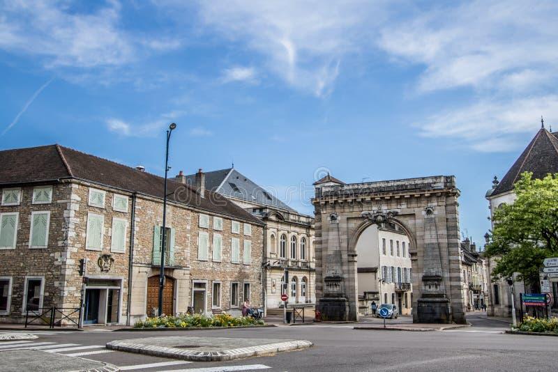博恩,法国 免版税库存图片