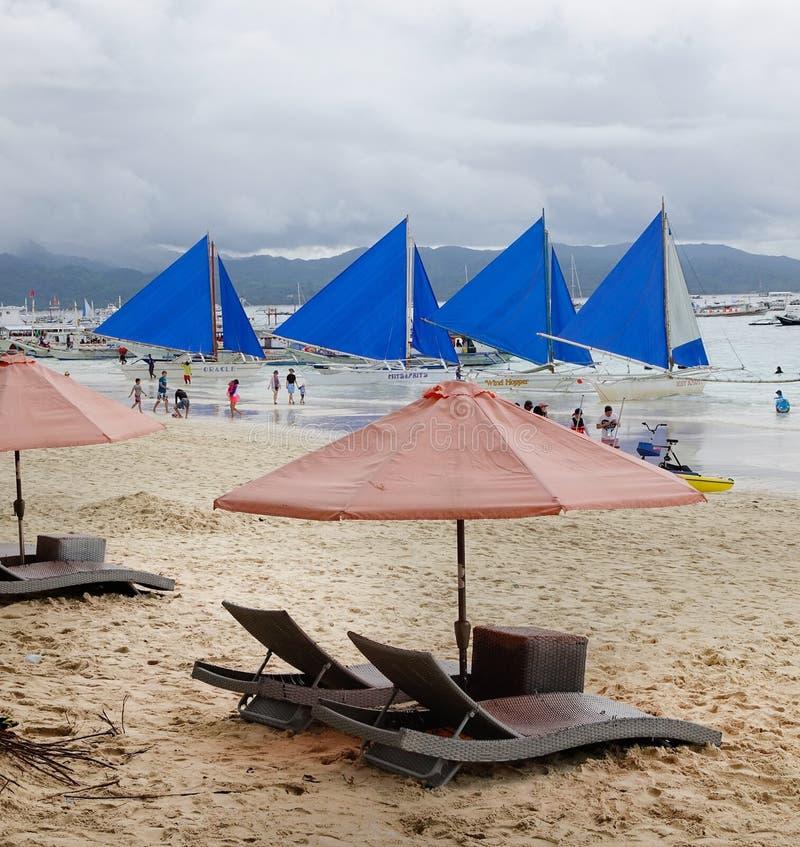 博拉凯海岛,菲律宾 免版税库存图片