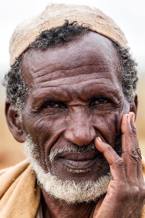 博拉纳人在埃塞俄比亚 库存图片
