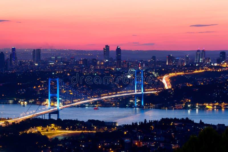 博斯普鲁斯海峡伊斯坦布尔 免版税库存照片