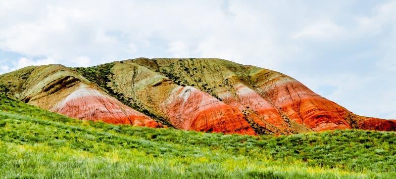 博格多山 俄国 伏尔加河 Ahtuba 免版税库存照片