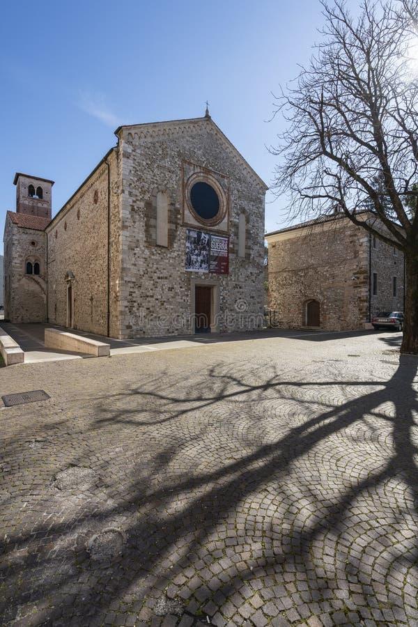 博洛尼亚圣方济各教堂教会在乌迪内 库存照片