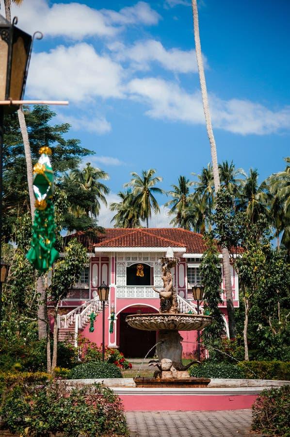 博物馆别墅埃斯库德罗,圣巴勃罗,菲律宾 图库摄影