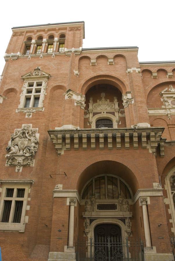 博物馆图卢兹 免版税库存照片