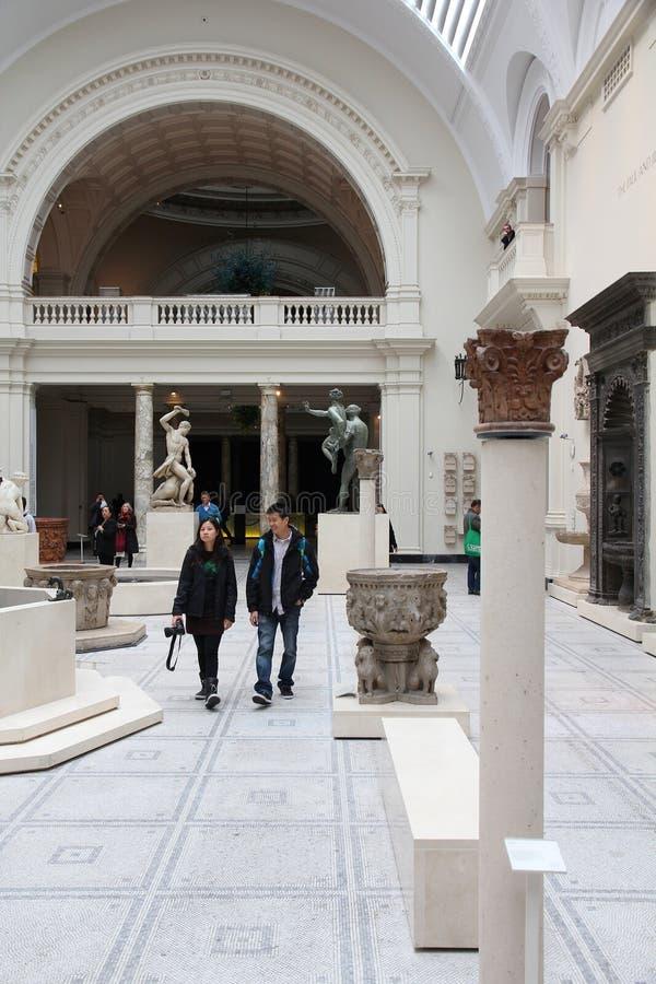 博物馆在伦敦 免版税库存照片