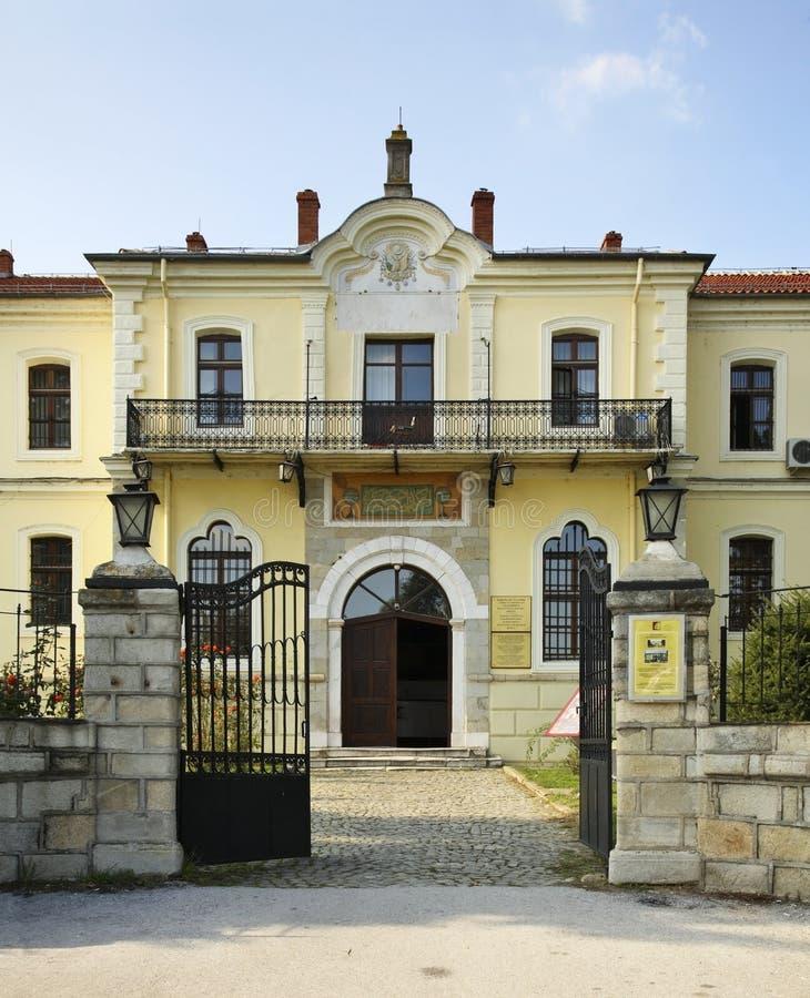 博物馆在比托拉镇 马其顿 库存图片