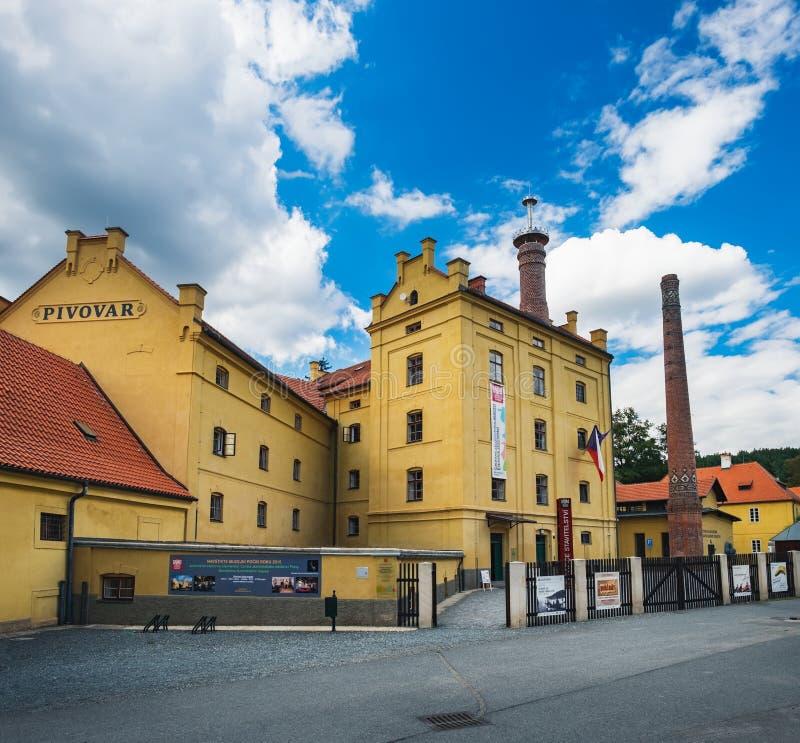 博物馆在Plasy,捷克 库存照片