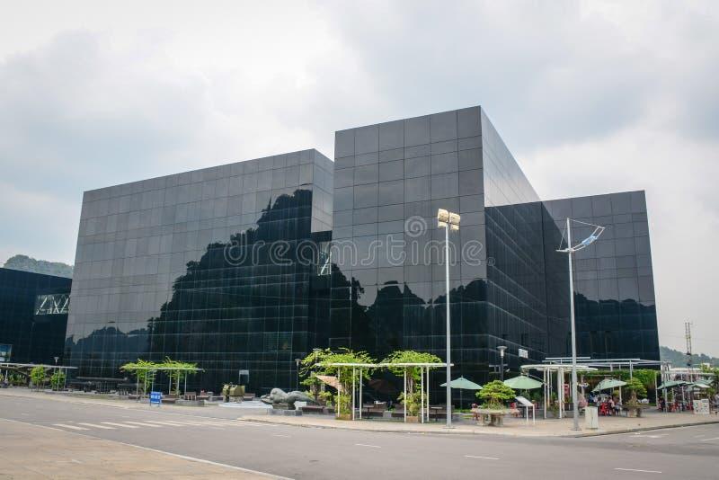 博物馆大厦在海防,越南 免版税库存图片