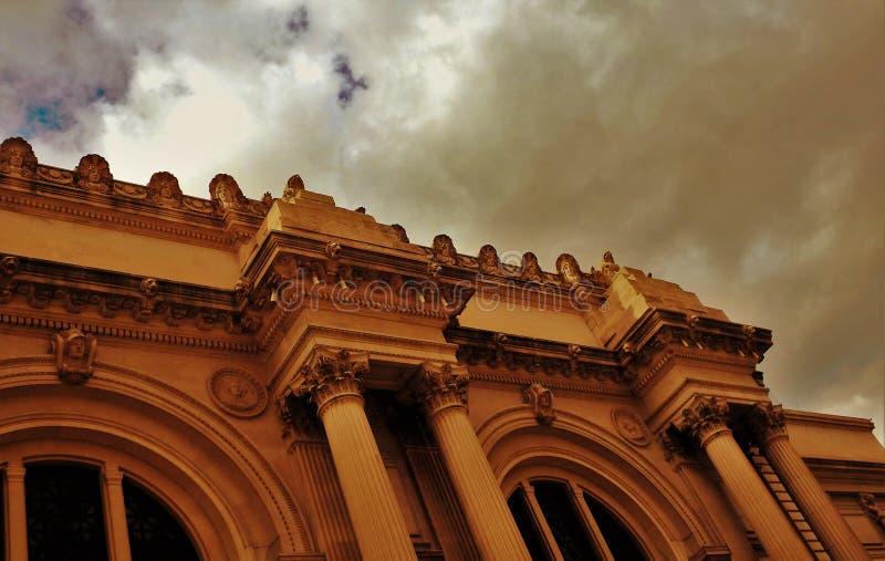 博物馆大厦的建筑设计 免版税库存图片