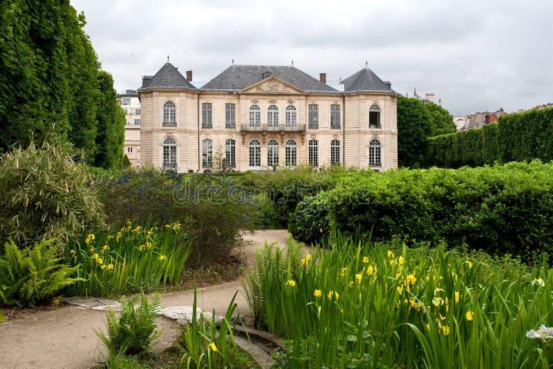 博物馆巴黎rodin 免版税库存照片