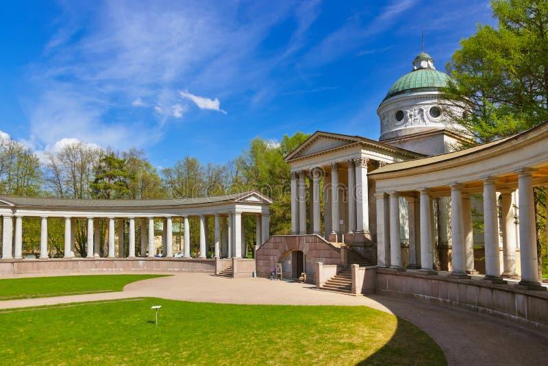 博物馆庄园Arkhangelskoye -莫斯科俄罗斯 免版税库存图片